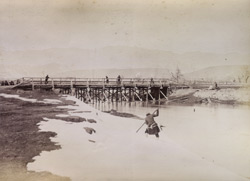 Bridge over Kabul River. 29